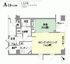 ■代官山ハイツ■1LDK #501